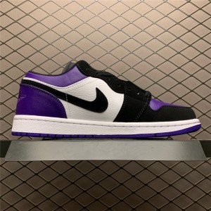 Men's/Women's Jordan Brand Air Jordan 1 Low Court Purple