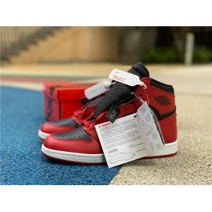Men's Air Jordan 1 High 85 Varsity Red Summit White-Black