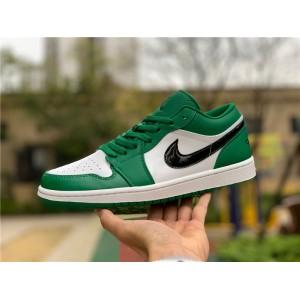 Men's/Women's Air Jordan 1 Low Pine Green
