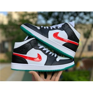 Men's/Women's Air Jordan 1 Mid Lucid Green To Buy BQ6472-063