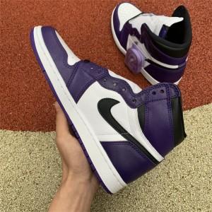 Men's Air Jordan 1 High OG Court Purple