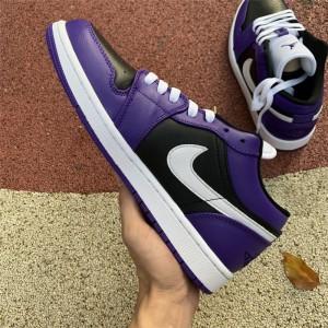 Men's/Women's 2021 Air Jordan 1 Low Court Purple Sneakers To Buy