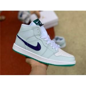 Men's/Women's 2021 Newest Air Jordan 1 Mid Nike Pregame Shoes
