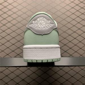 Men's/Women's 2021 Release Air Jordan 1 Low OG Neutral Grey White