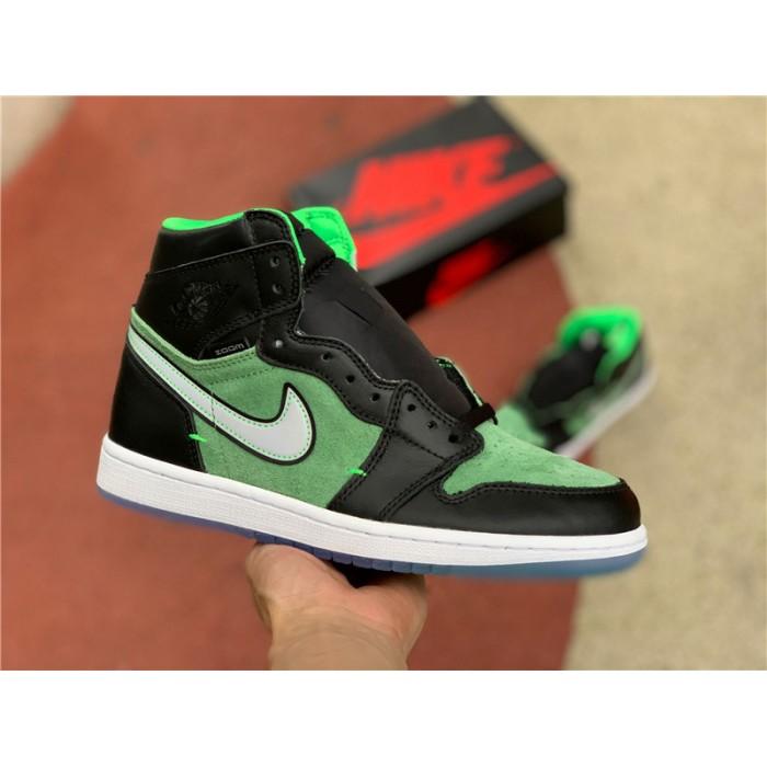 Men's Air Jordan 1 High Zoom Rage Green