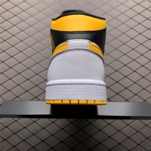 Men's/Women's Air Jordan 1 Mid Laser Orange
