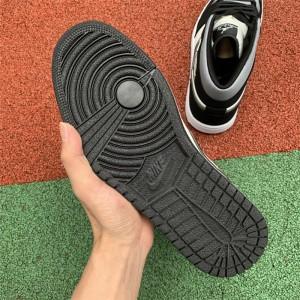 Men's Air Jordan 1 Mid Satin Grey Toe
