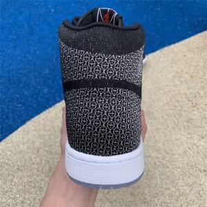 Men's Air Jordan 1 Retro High MTM Black/Silver-White