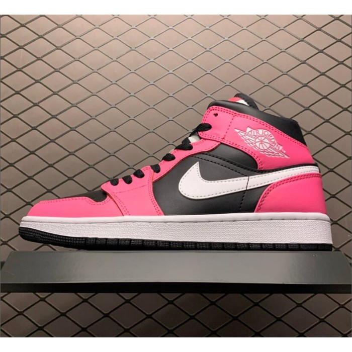 Men's/Women's Buy Air Jordan 1 Mid GS Pinksicle Black/White
