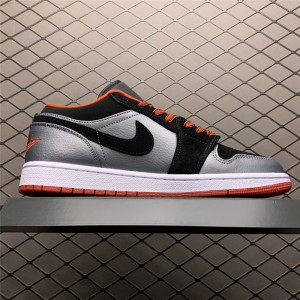 Men's/Women's Buy Air Jordan 1 Retro Low Dark Grey Black