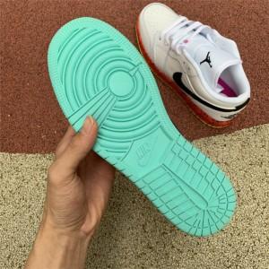 Women's Buy Cheap Air Jordan 1 Low GS Multi-Color
