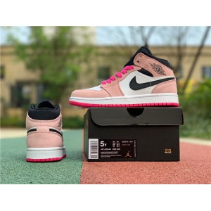 Women's Buy Air Jordan 1 Mid SE Crimson Tint/Hyper Pink
