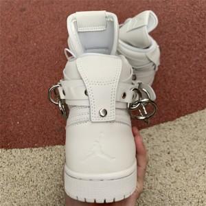 Men's/Women's Cheap Comme des Garçons x CDG Air Jordan 1 White