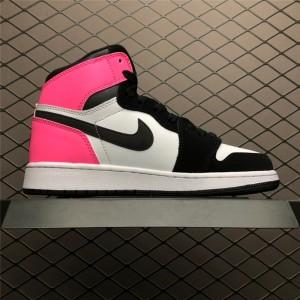 Women's Air Jordan 1 Retro High OG GS Valentines Day Black-Hype