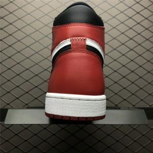 Men's New Air Jordan 1 Retro High OG Black Toe