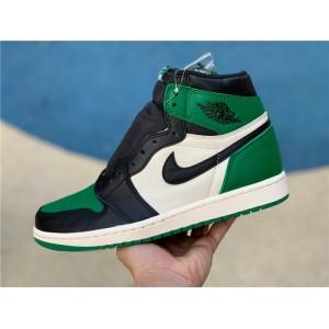 Men's Nike Jordan 1 Retro High Pine Green