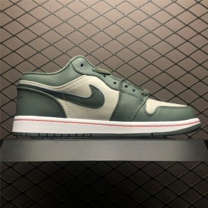 Men's Shop Air Jordan 1 Low Military Green Online