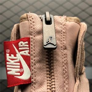 Women's Air Jordan 1 High Zip Particle Beige/Metallic Red Bronze