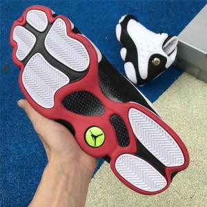 Men's 2018 Air Jordan 13 Retro He Got Game White/Black/True Red
