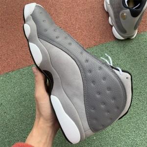 Men's 2019 Air Jordan 13 Retro Atmosphere Grey Grey White
