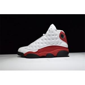 Men's Air Jordan 13 Retro Chicago White/Black-Team Red