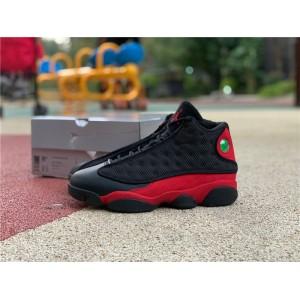 Men's Air Jordan 13 Bred Black Red