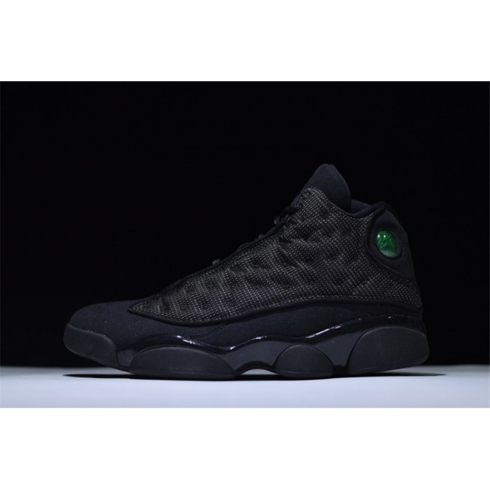 Men's Nike Air Jordan 13 Black Cat Black/Black-Anthracite