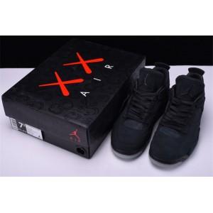 Men's Air Jordan 4 Retro KAWS Black