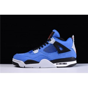 Men's Eminem X Air jordan 4 Encore Blue Black-Grey Red