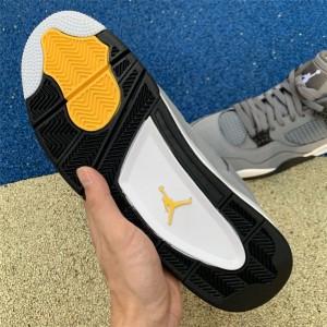 Men's Air Jordan 4 Cool Grey Sneakers New Sale