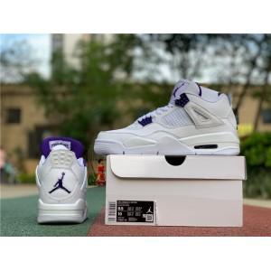 Men's Air Jordan 4 Metallic Purple