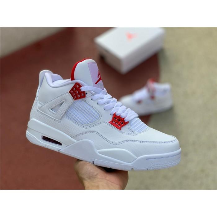 Men's Release Air Jordan 4 Red Metallic Sneaker
