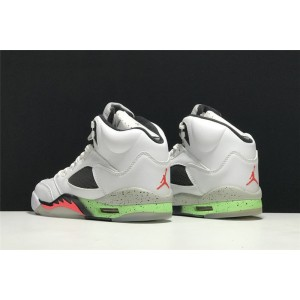 Men's Air Jordan 5 Retro Pro Stars Poison Green