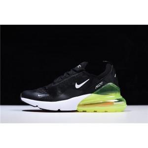 Men's/Women's Nike Air Max 270 Lace Mesh Black Green White
