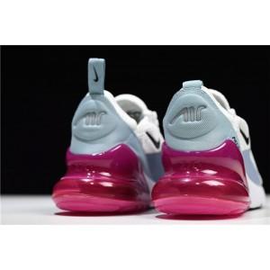Women's Nike Air Max 270 Barely Grey Black Pumice Fuchsia