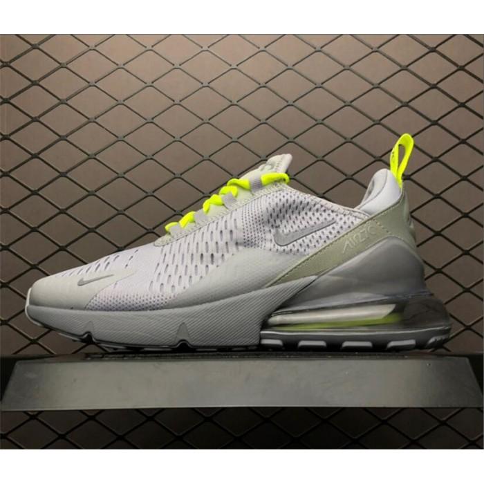 Men's Nike Air Max 270 Wolf Grey Volt-Reflect Silver