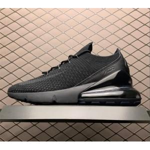 Men's Nike Air Max 270 Flyknit Triple Black