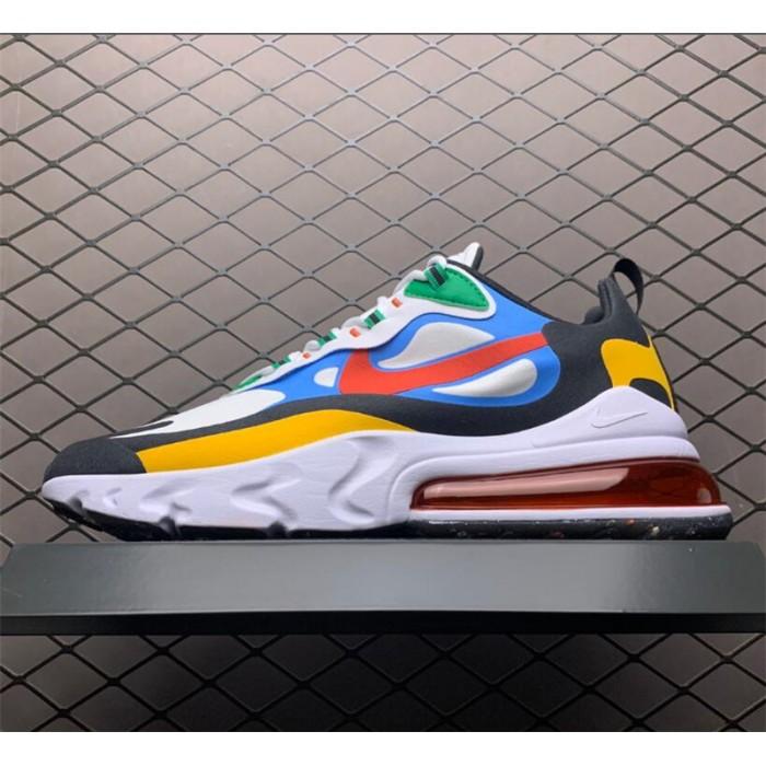 Men's/Women's Nike Air Max 270 React Multi-Color Shoes DA2610-161