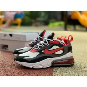 Men's/Women's Nike Air Max 270 React Black University Red