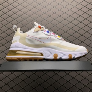 Women's Nike Air Max 270 React LA Edition Pale Ivory Pale Vanilla