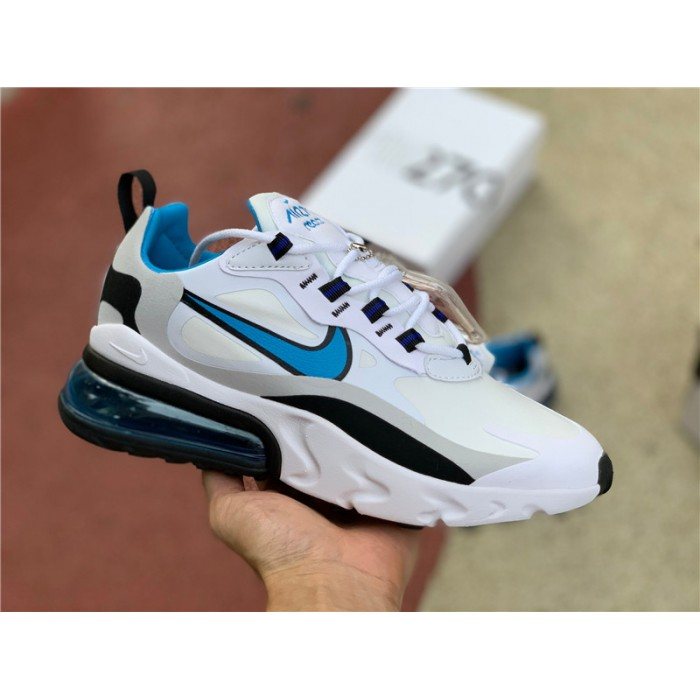 Men's/Women's Nike Air Max 270 React Sky Blue CT1280-101