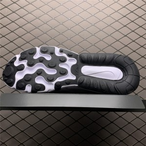 Men's Nike Air Max 270 React White Blue Black On Sale