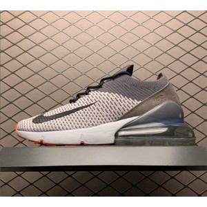 Men's Nike Air Max 270 Flyknit Atmosphere Grey Casual Shoes