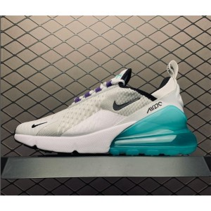 Women's Nike Air Max 270 GS Platinum Jade On Sale