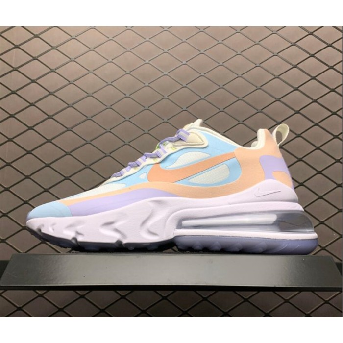 Women's Nike Air Max 270 React Sail Coral Stardust-White