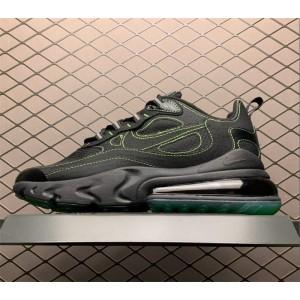 Men's Nike Air Max 270 React SP Black Electric Green