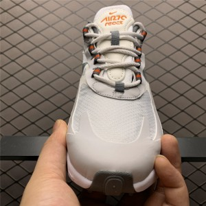 Men's/Women's Nike Air Max 270 React Summit White Bust Grey-Metallic Gold