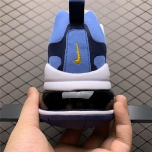 Men's Nike Air Max 270 React White Midnight Navy University Blue