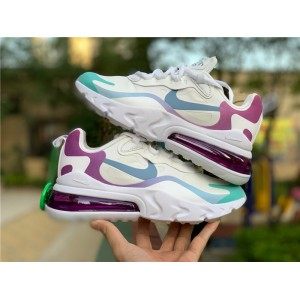 Women's Nike Air Max 270 React White Multicolor Online Sale