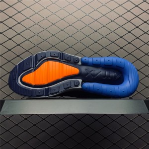 Women's Nike Air Max 270 Wolf Grey Midnight Navy-Photo Blue